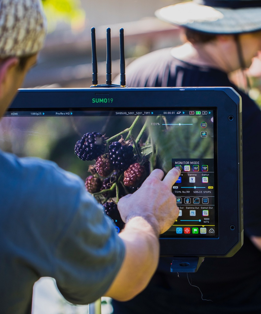 "Atomos Sumo 19"" HDR/High Brightness Monitor Recorder/Switchere5"