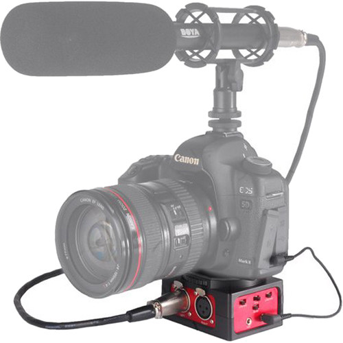 Saramonic SR-AX101 - 2-Channel Passive Audio Adapter for DSLR Cameras