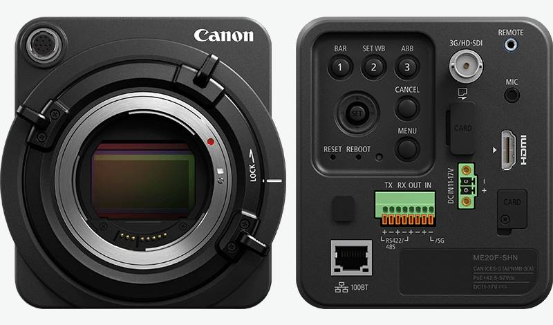 Canon Multi-Purpose Network Camera ME20F-SHN