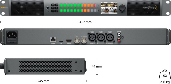Blackmagic Audio Monitor 12G