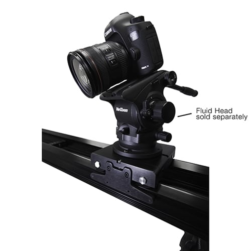 VariZoom VariSlider VSM1-T camera slider with 2 tripod mounts