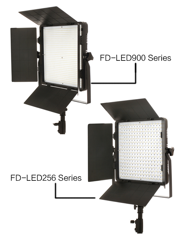 Farseeing 120W Bi-color FD-LED256 Studio Lights