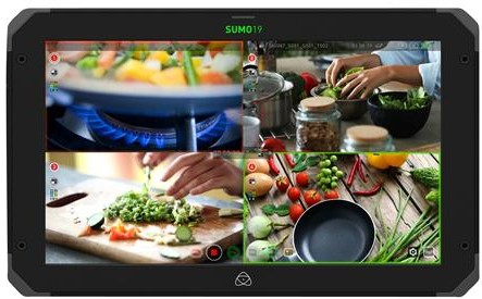 "Atomos Sumo 19"" HDR/High Brightness Monitor Recorder/Switcher"