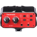Saramonic SR-PAX1 Two-Channel Audio Mixer, Preamp, Microphone Adapter