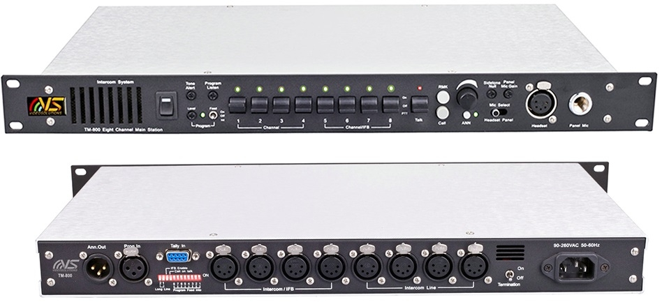 Videosolution 8 Channel Intercom TM-800 Main Station