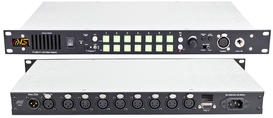 Videosolution 7+1 Channel Intercom FT-800 Main Station