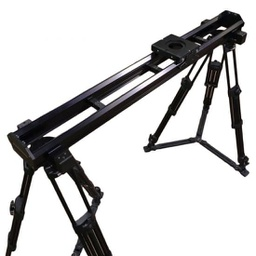 VariZoom VariSlider VSM1-TK camera slider with 2 tripods and 2 tripod mounts