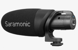 Saramonic CamMic+ Battery-Powered Camera-Mount Shotgun Microphone for DSLR Cameras and Smartphones