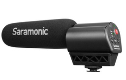 Saramonic Vmic Pro Super Directional Condenser Video Microphone with Rubberized Shockmount for DSLR Cameras/Camcorders